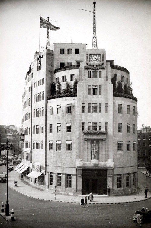 Broadcasting House opened in 1932, and has been the headquarters of the BBC ever since.