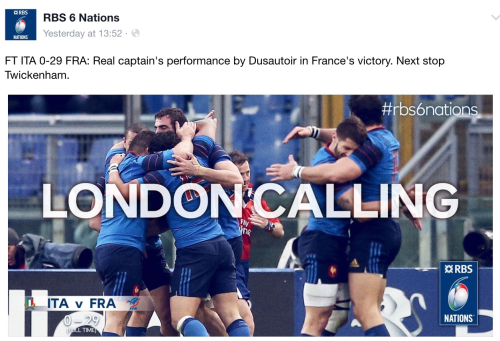 France went to Rome and beat Italy comfortably, if the scoreline is anything to go by.
