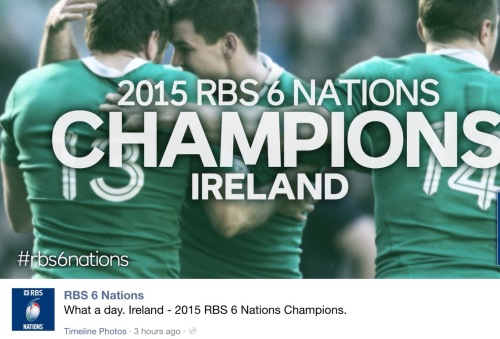 Ireland retained their 6 Nations crown after a nail-biting end to the match between England and France at Twickenham.